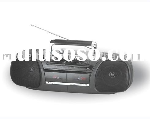 Radio Double Cassette Recorder/Double Cassette Player/Radio Cassette Player/Radio Cassette Recorder/