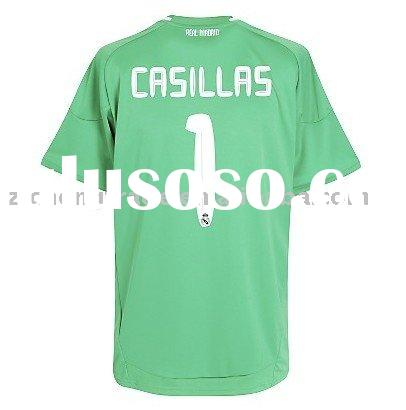 Real Madrid FC Goalkeeper Jersey With Number Printing