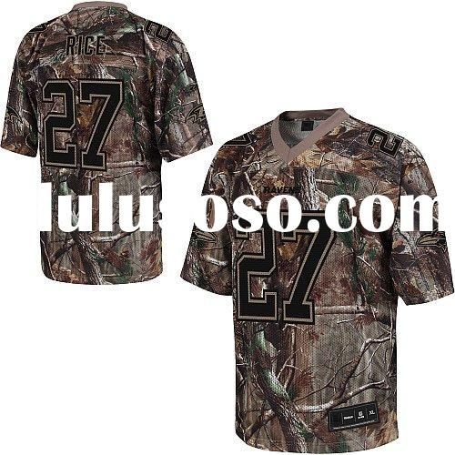 Realtree Jerseys Baltimore Ravens #27 Ray Rice FOOTBALL Camo Authentic Jersey 48-60 Drop Shipping +