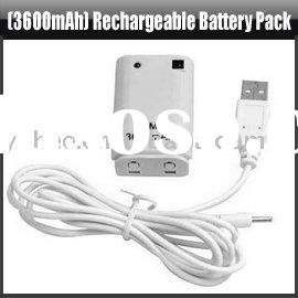 Rechargeable Battery Pack for Xbox 360,YHA-XB004