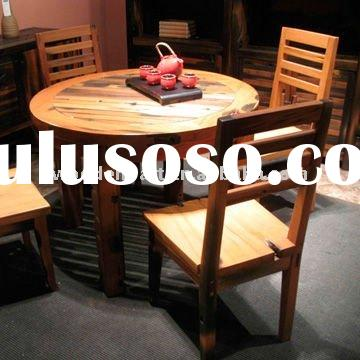 Reclaimed wood dining furniture