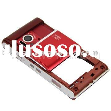 Red Full Housing Cover Case for Sony Ericsson Satio Idou U1