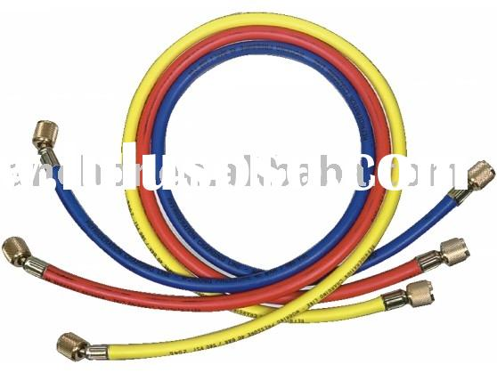 Refrigerant charging auto air conditioner hoses ( DS3Y )
