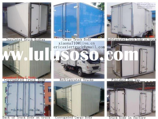 Refrigerated box van Truck/Cargo box van truck/insulated box van truck