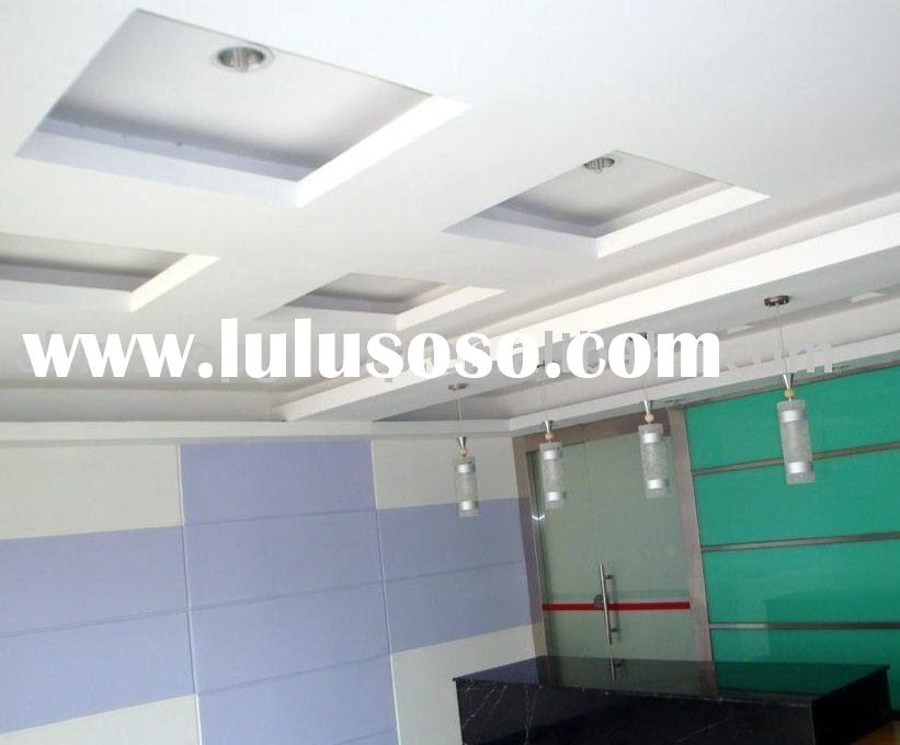 Regular gypsum panels .Interior ceiling ,gypsum board 9mm,Normal gypsum board .