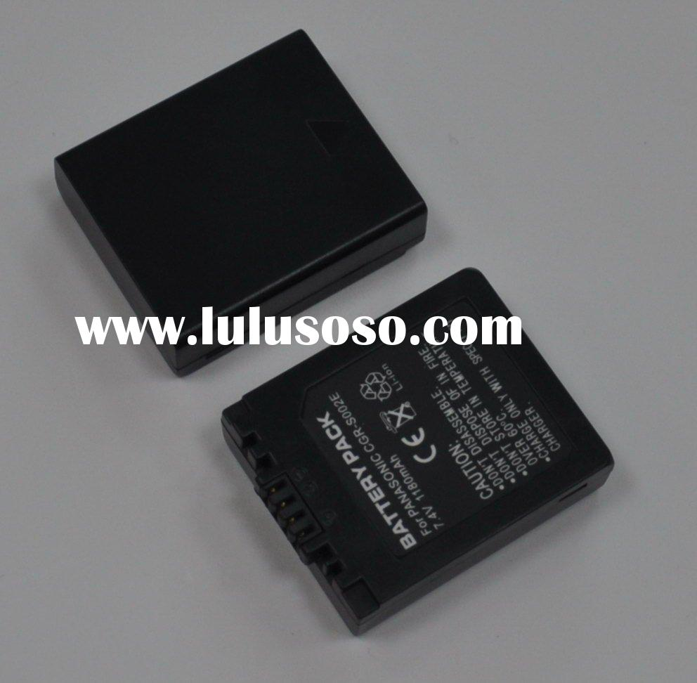 Replacement for PANASONIC LUMIX DMC-FZ Series Digital Camera Battery