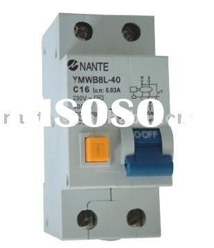 Residual Current Circuit Breaker with Overcurrent Protection(RCBO,RCCB,RCD)