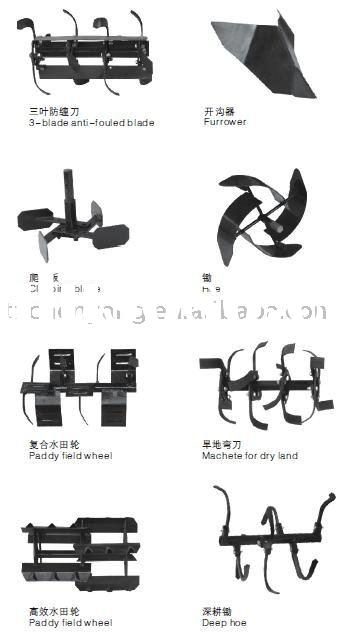 Rotary cultivator / Power tiller parts
