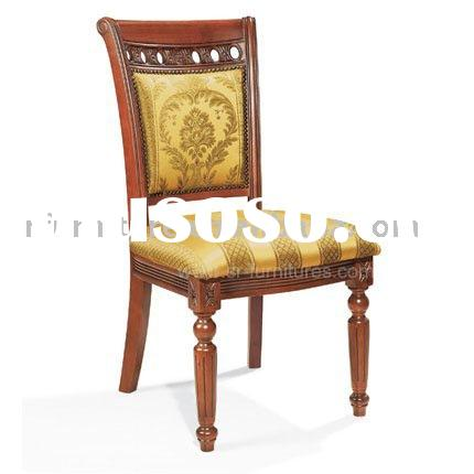 Royal Antique Birch Wood Carving Dining Chair