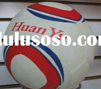 Rubber football/Rubber soccer ball