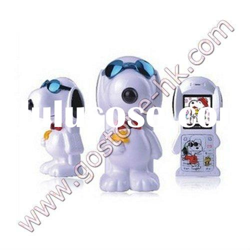 S520 snoopy dual sim card cartoon mobile phone