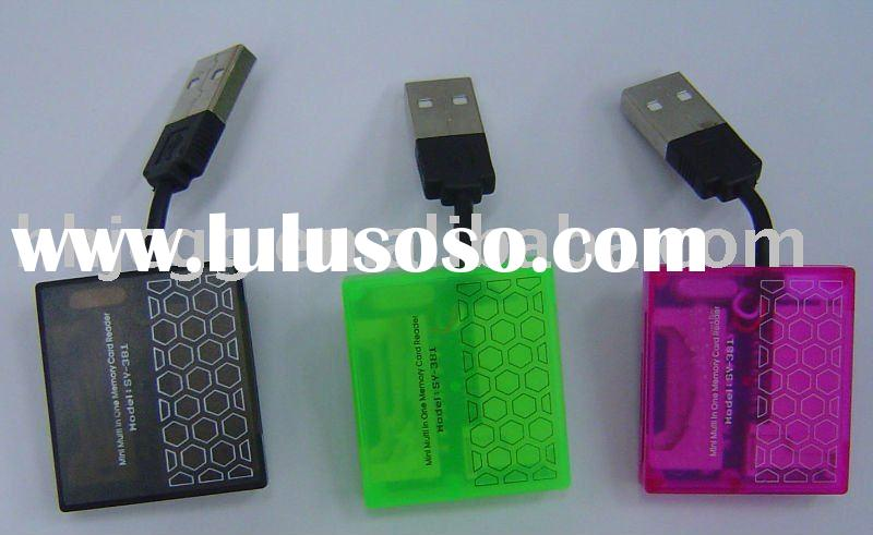 SD/XD/MS/USB 2.0 CARD READER COMPACT FLASH TYPE