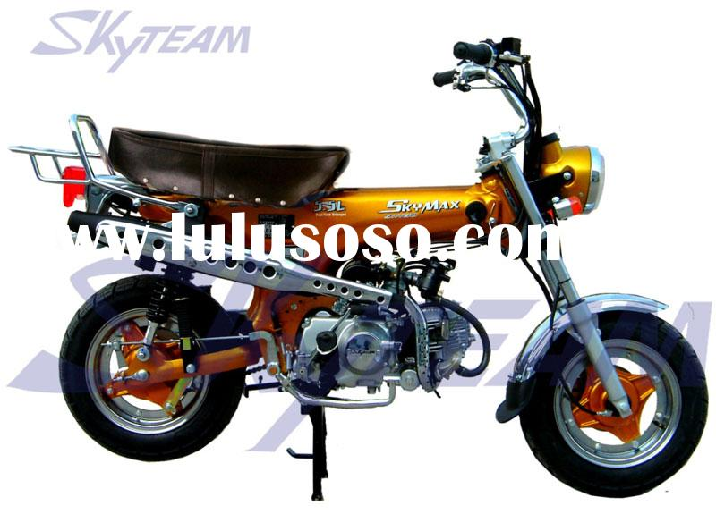 SKYTEAM 125cc 4 stroke dax SKYMAX motorcycle(EEC APPROVAL EUROII EURO3) NEW 5.5L BIG FUEL TANK.