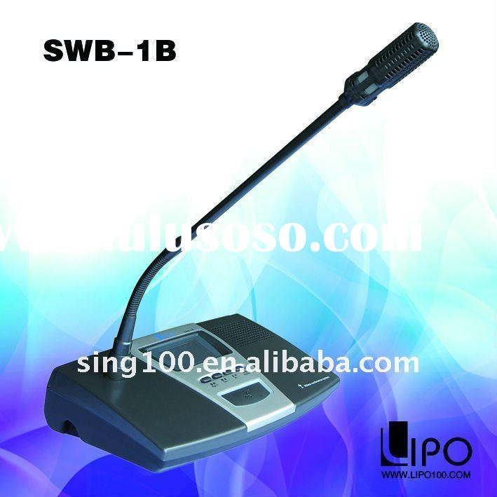 SWB-1 wireless voting and camera tracking conference system