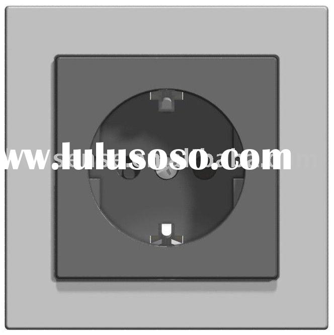 Schuko Socket Wall Outlet (Power Socket, electrical outlet)