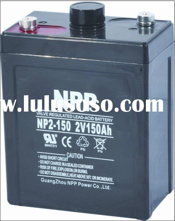 Sealed lead acid battery 2V 150AH