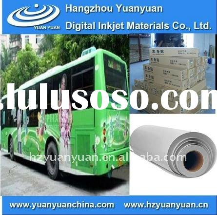 Self Adhesive PVC Outdoor Vinyl Sticker inkjet media