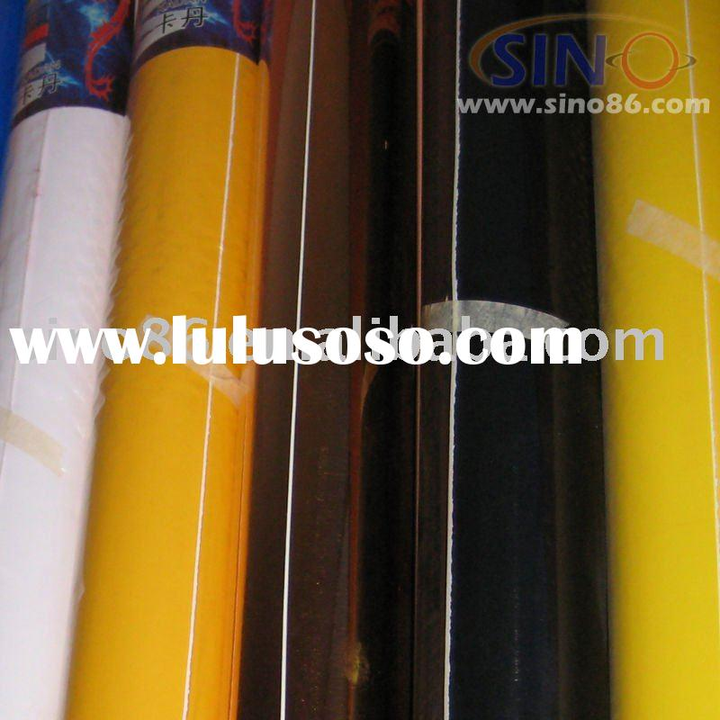 Self adhesive color pvc vinyl film sticker