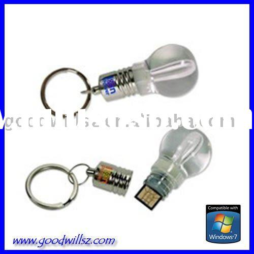 Shining bulb USB Flash Drive 2.0 with LED light