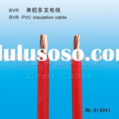 Single Core PVC Insulation Cable