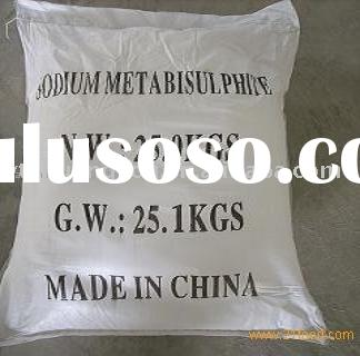 Sodium Metabisulfite--used in Bleach of paper pulp Treatment agent of waste water