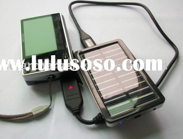 Solar Battery Charger with LED light for Ipod,Digital Camera,Mp3,Mp4