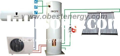 Solar Water Heater &Solar Wall Mounted Air Conditioner