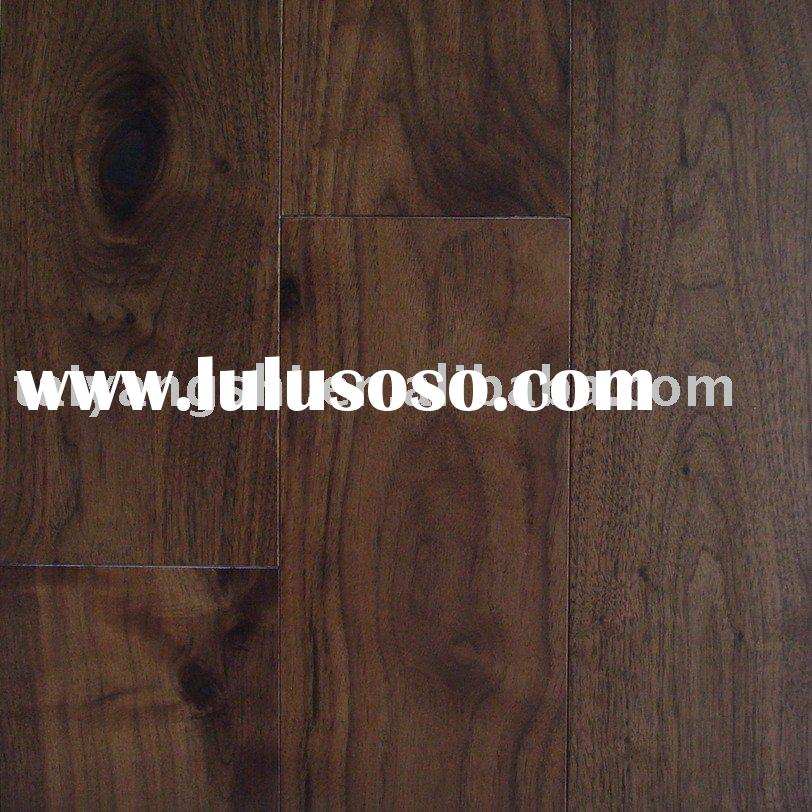 Solid Hardwood Flooring,American Black Walnut,UV Lacquered,Natural Colored