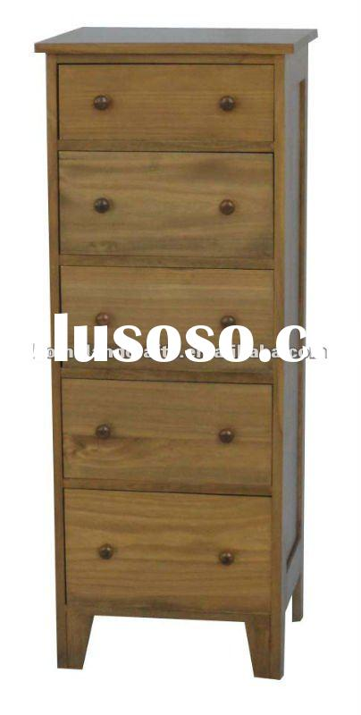 Solid wood living room furniture with drawers