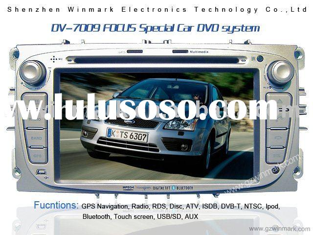 Special car audio GPS system for Ford-Focus car DVD Ipod Radio Bluetooth
