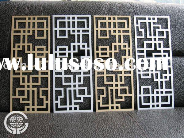 Special perforated design wall decorative panel