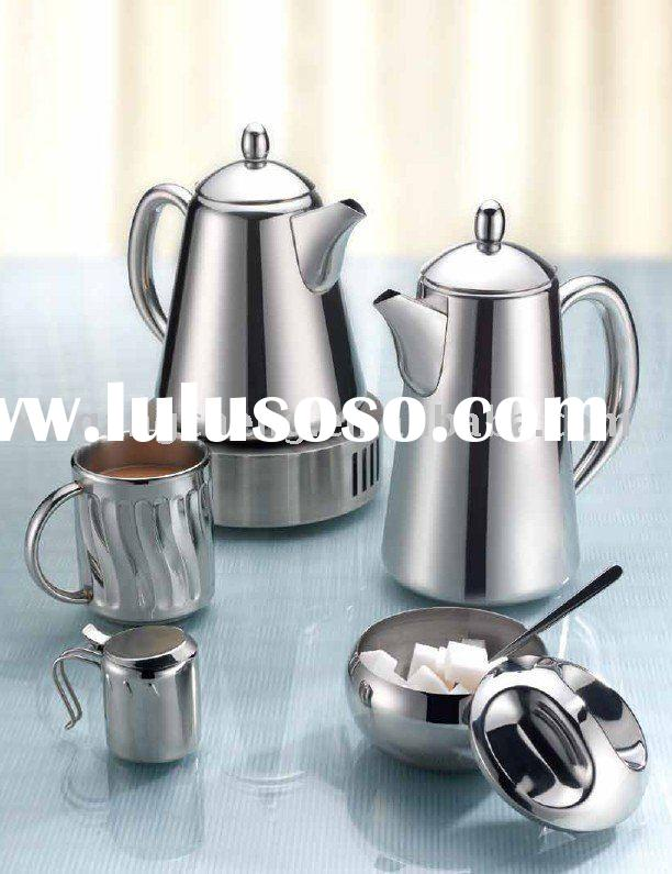 Stainless Steel Coffee and Tea Pot