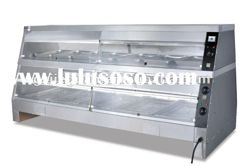Stainless Steel Food Display Warmer DH-4P/6P/8P
