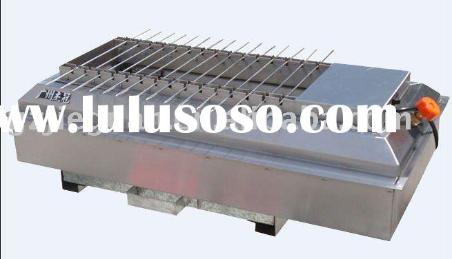 Stainless Steel Gas Conveyor Barbecue Grill (GB-700)