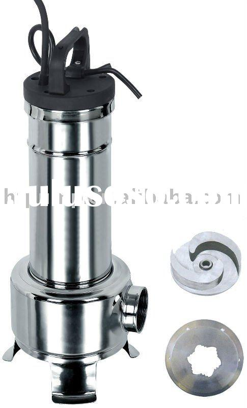 Stainless Steel Grinder Sewage Pumps
