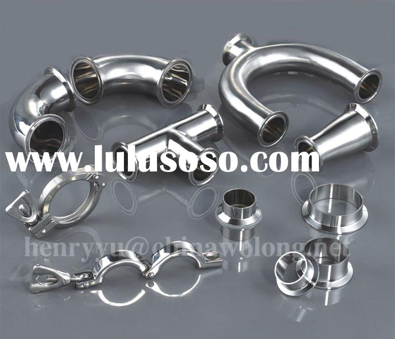 Stainless Steel Sanitary Pipe Fitting and Tri Clamp