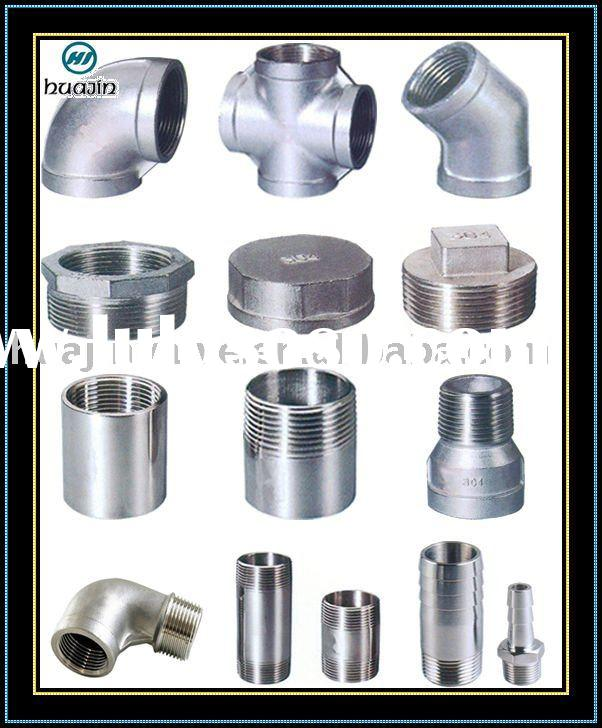 Stainless Steel Threaded Pipe Nipple with Low Price