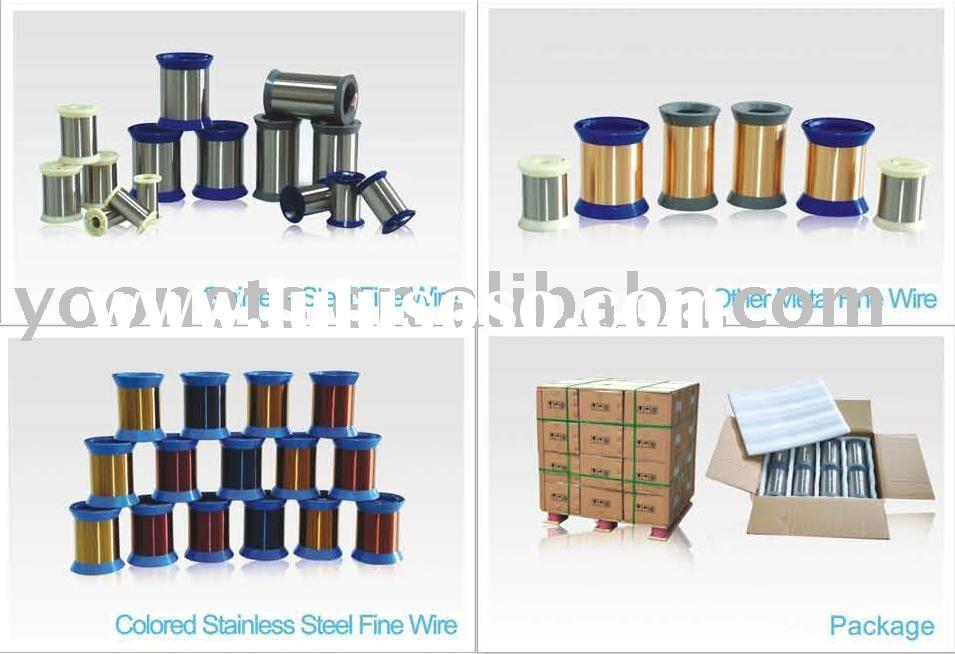 Stainless steel fine wire(steel wire,stainless steel wire,metal wire)