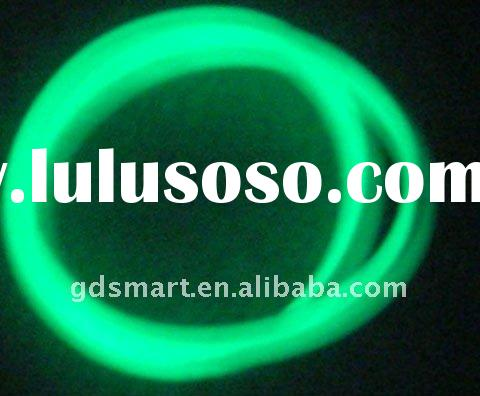 Standard green band glow in the dark silicone wristbands bracelet silicon wristband