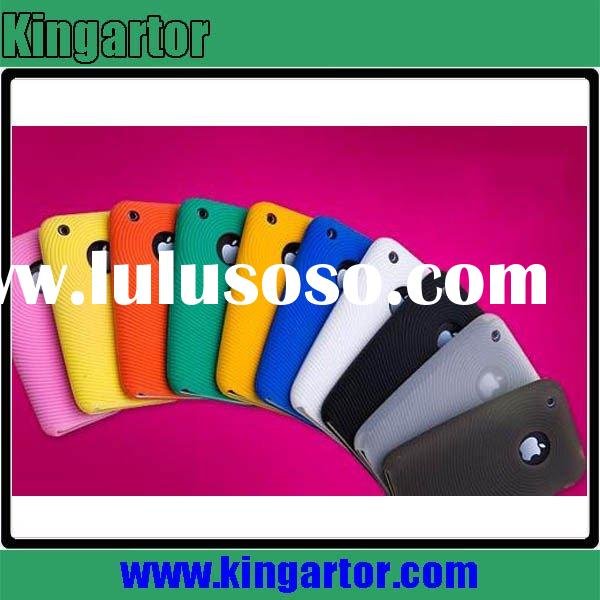 Stylish silicon mobile phone case for iphone 3G