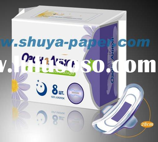 Super Absorption Anion Sanitary Napkin