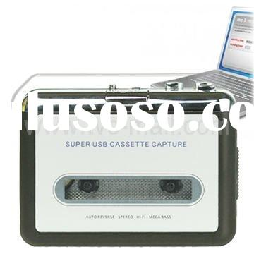 Super USB Cassette Capture,Cassette Player and to MP3 Converter