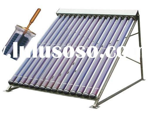 Super heat conduction metal vacuum tube solar collector (SHCMV SOLAR COLLECTOR)