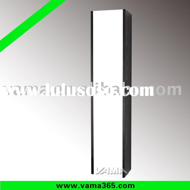 Supplying Modern dressing mirror side cabinet/ wall-hung wood cabinet vanity/solid wood bathroom cab