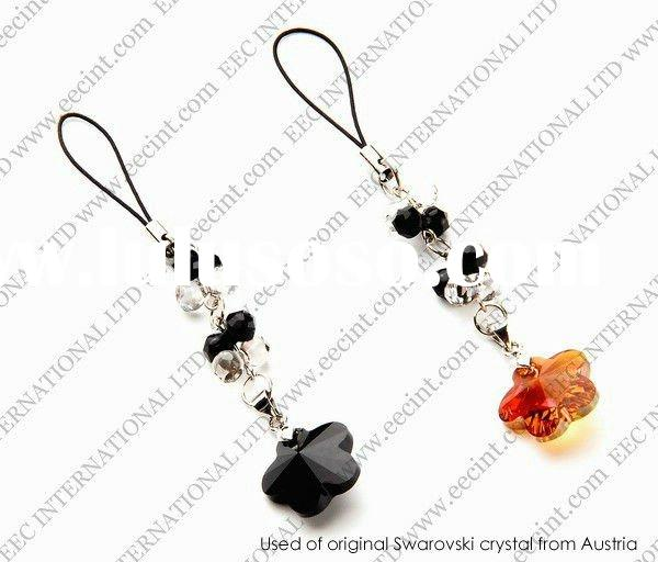 Swarovsky elements,Swarovski elements crystal beads Mobile phone Charms,swarovski elements crystal j