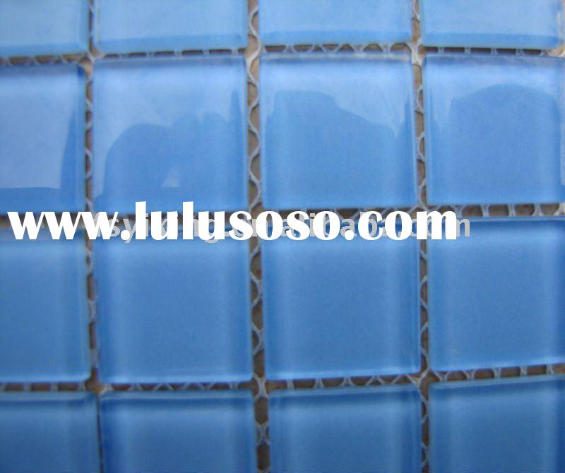 Swimming Pool Crystal Glass MosaicGS52; Bathroom Glass Mosaic for Wall and Floor Decoration