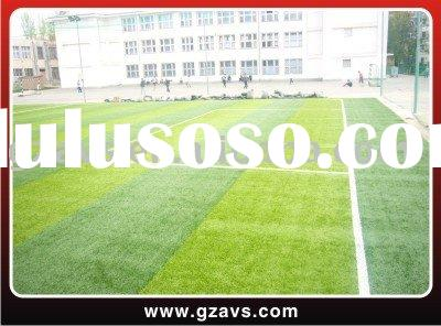 Synthetic grass/artificial turf for soccer