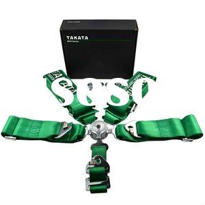 "TAKA 5-Point 3"" Quick Release Racing Seat Belt"