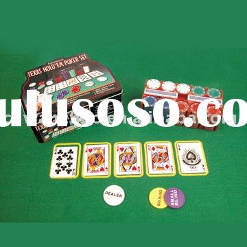 TEXAS HOLD EM POKER SET, AUTOMATIC CARD SHUFFLE, ,FANCY GIFTS & GAMES,POKER GAME SERIES,