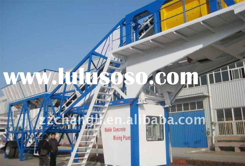 TOP 10 IN CHINA !High Quality Mobile Concrete Batching Plant(30m3/h)